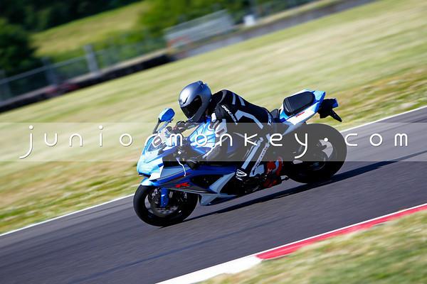 #10 - Blue GSXR