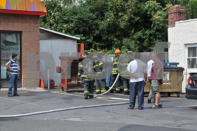 Syosset Dumpster, Jackson Ave 8-24-2011