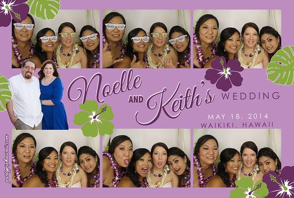 Noelle & Keith's Wedding (Luxury Photo Booth)