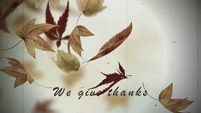 Thanksgiving Greeting 2014