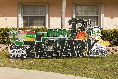 Zachary's 13th Birthday