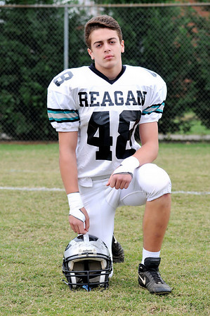 O'leary - Reagan Raiders HS Football player