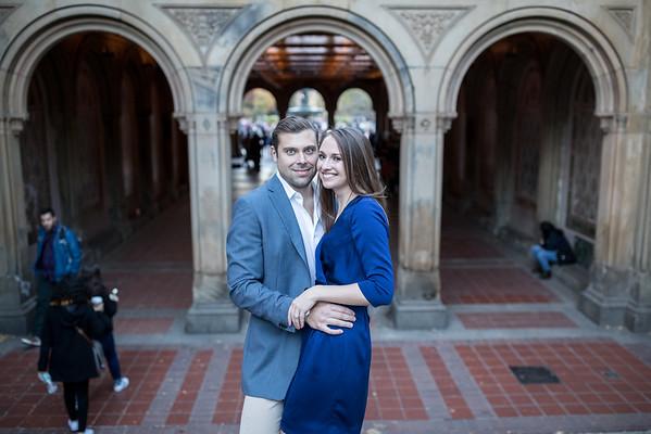 Sarah+Brian, Central Park Engagement