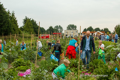 Vinkhuizen Hoendiep 2014 Westpark Kinderwerktuin Opening
