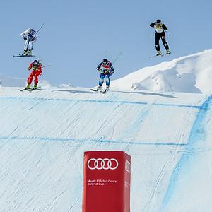Feb 6, 2015 - Arosa Audi ski cross final #1