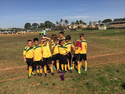 Jackson Soccer Team Photo