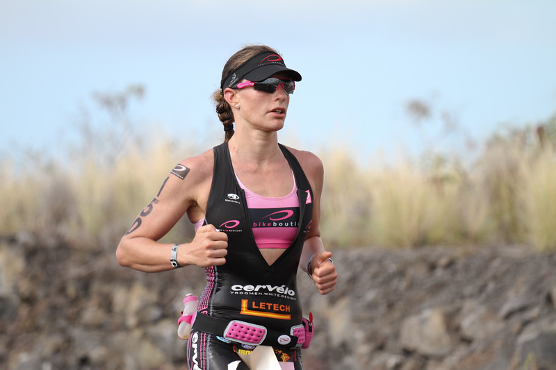Caroline Steffen in second place