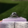 .84ctw Transitional Cut Diamond Filigree Solitaire 16