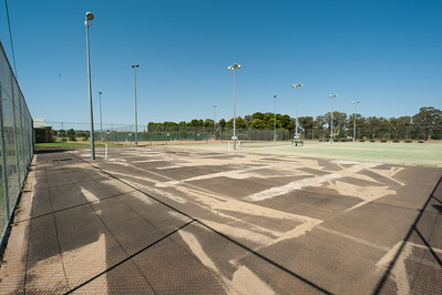 GTC Courts 1-4 resurfacing