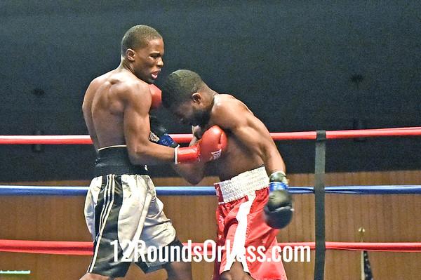 Bout 5 Lavelle Hadley(Red Wrist-wraps), Youngstown -vs- Zeatuo Lyon(Blue wrist-wraps), East Lansing, MI, 156 lbs