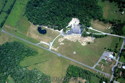 Aerial Photos - Skydive The Ranch