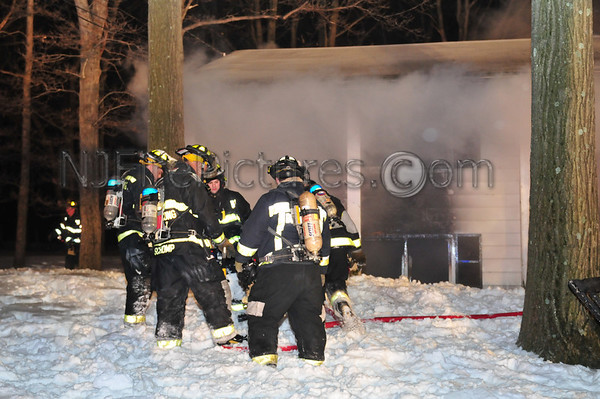 Flanders, NJ House Fire 27 Tinc Road 2/1/11