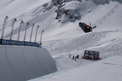 Mar 19-22, 2018 - Tignes halfpipe World Cup