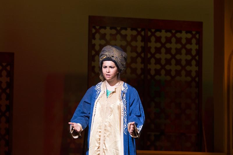 "Hajj with Omar Khayyam (""The Olive Tree"") -- Kismet, Montgomery Blair High School spring musical, April 15, 2016 performance (Silver Spring, MD)"