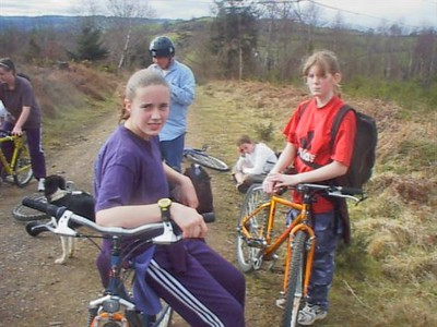 Haldon Woods Cycle Trip