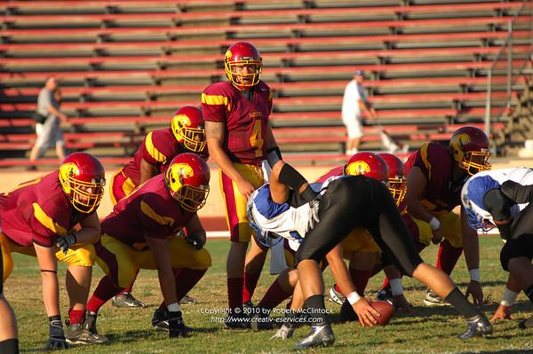 Modesto Junior College The Game -- 09/11/10 FINAL SCORE = 20-28W