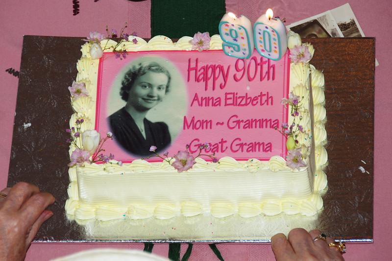 Anna's 90th