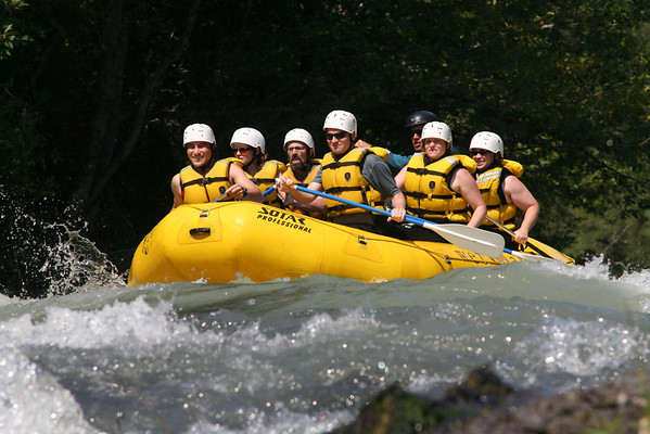 Rafting -- White Salmon River Aug 17 2008