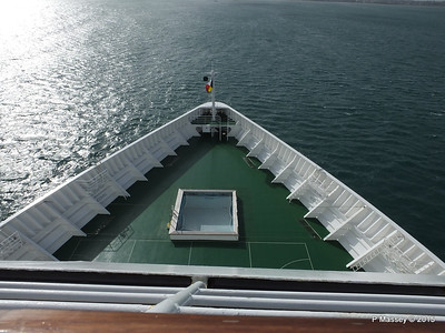 ORIANA's Bow & Fwd Viewing Deck Areas Apr 2015