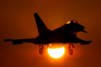 RAF Coningsby Golden hour 04-12-19