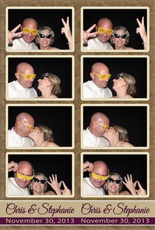 2013-11-30 Stephanie & Chris Wedding