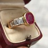3.21ctw Burma N-Heat Ruby Ring, by Mellerio 22