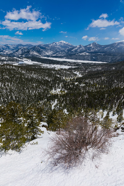Rocky Mountain National Park in Snow
