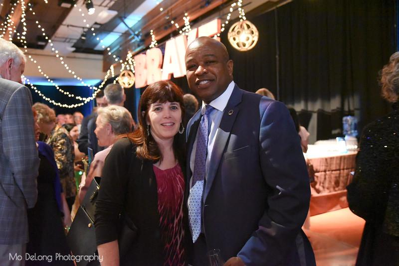 Shelly Scott and Ottis Bruce