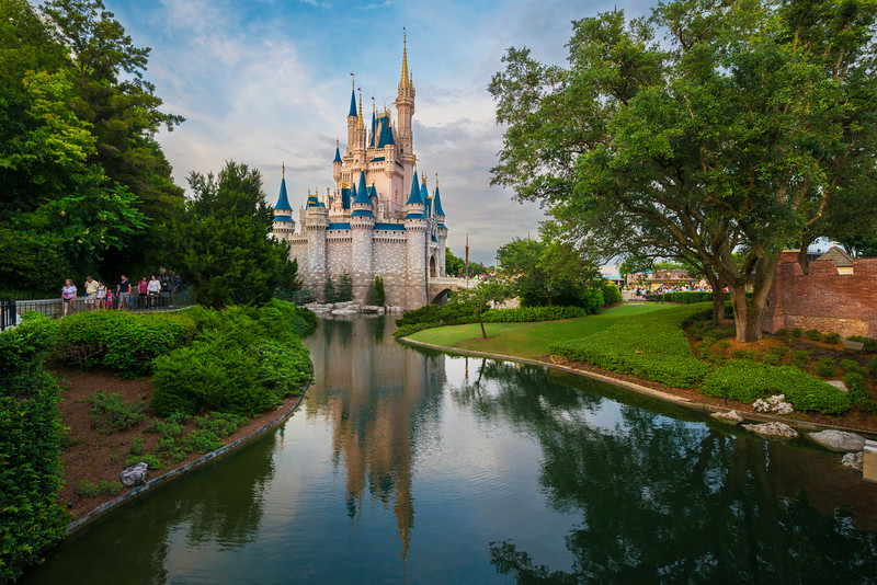 """Fantasyland"" - Cinderella's Castle, Magic Kingdom - Walt Disney World   Recommended Print sizes*:  4x6  
