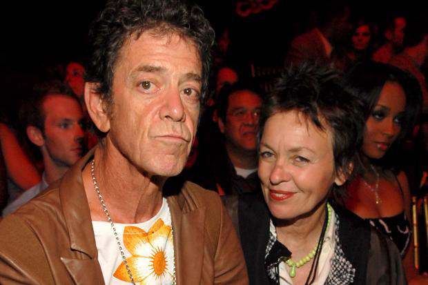 Description of . Lou Reed and wife Laurie Anderson, photo by  Kevin Mazur / WireImage