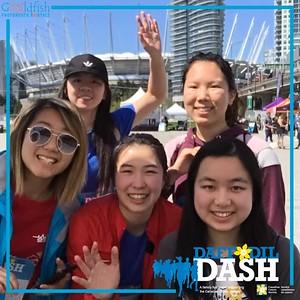 2019 Daffodil Dash - Boomerrangs