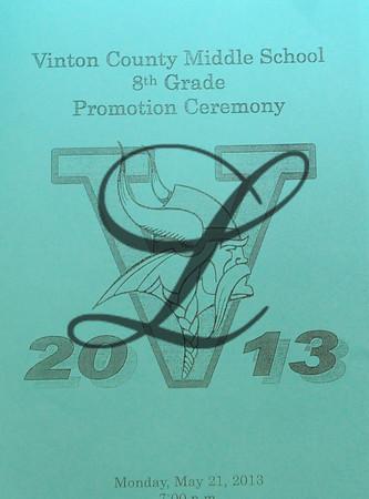 VCMS Graduation 2013 Camera#1