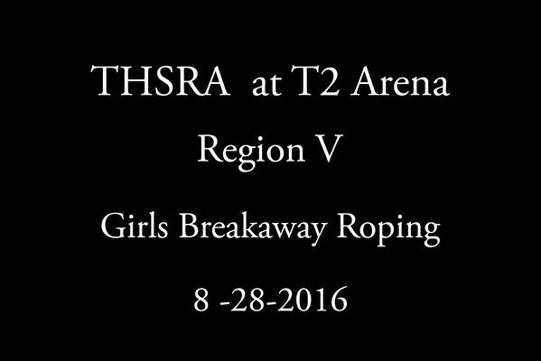 Sunday  'Girls Breakaway Roping'