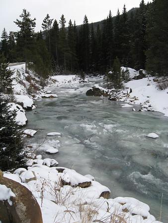 Peru Creek November 2007