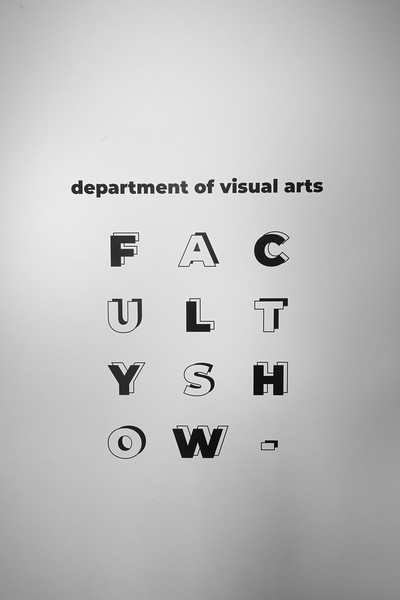 Faculty Exhibition Fall 2019