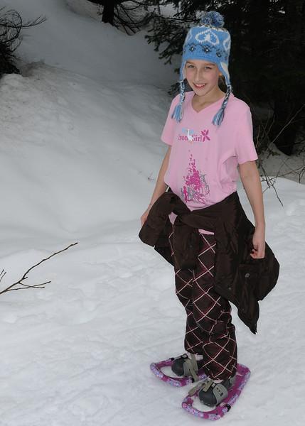 Kendal Peak Snowshoe Hike