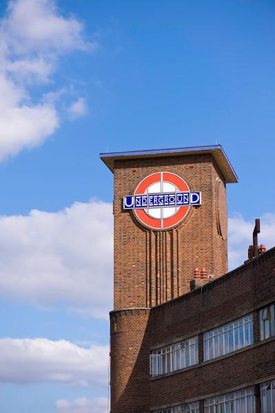 Park Royal underground station, London, United Kingdom