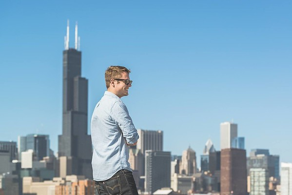 Shooting with Sean Parker in Chicago by Nick Ulivieri