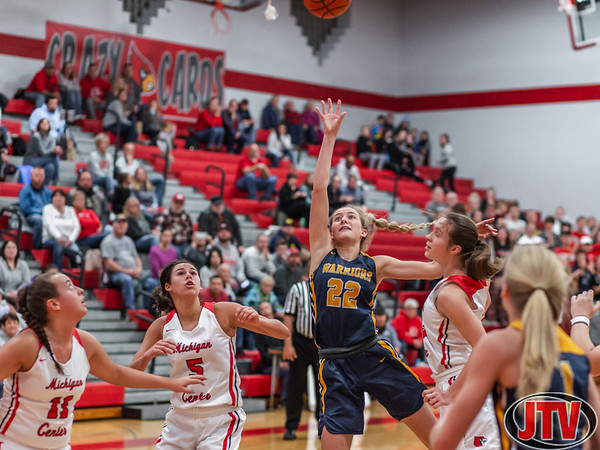 Grasslake vs. Michigan Center Girls Basketball 12-18-19