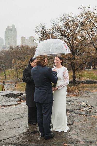 Central Park Elopement - Alice & Joseph