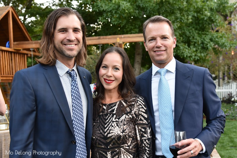 David and Monica Nelson and Steve Hays