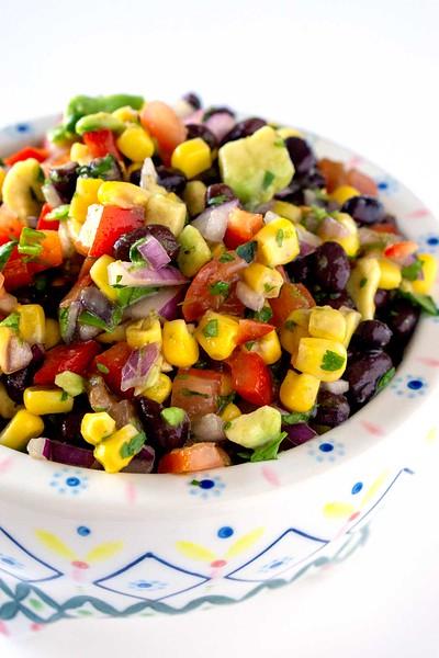 Black Bean and Corn Salad - Vegan Mexican recipes