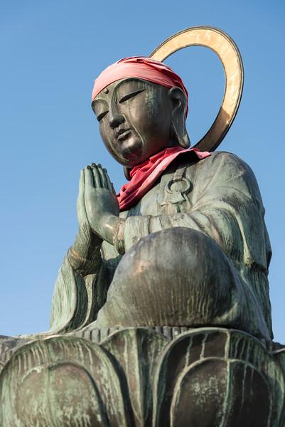Roku jizo Statue, Zenko-ji, Nagano