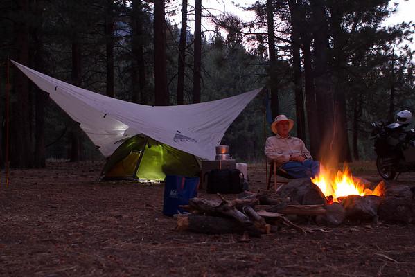 Camping at Wolf Creek