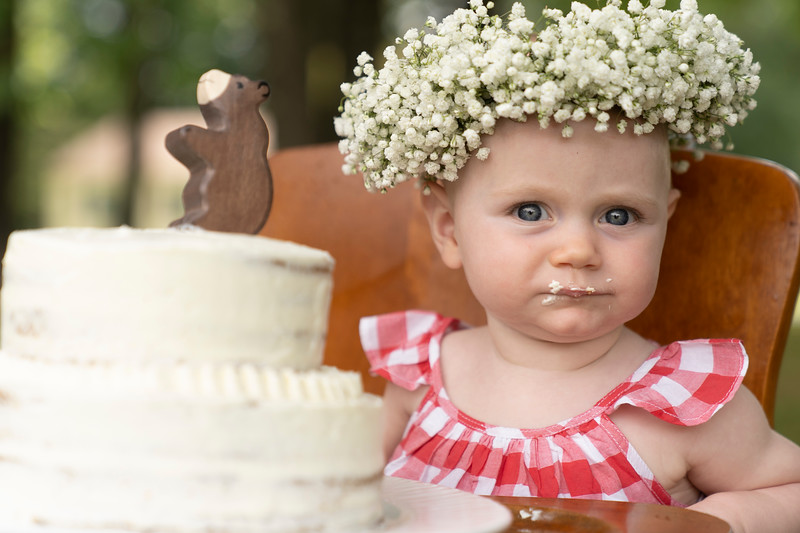 Mary's First Birthday