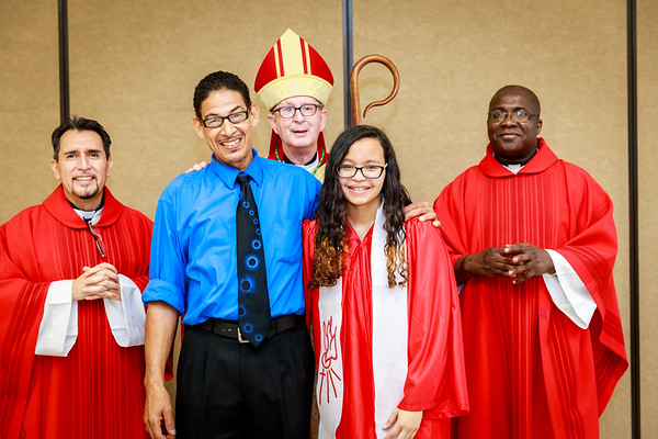 2017 St Catherine Confirmation
