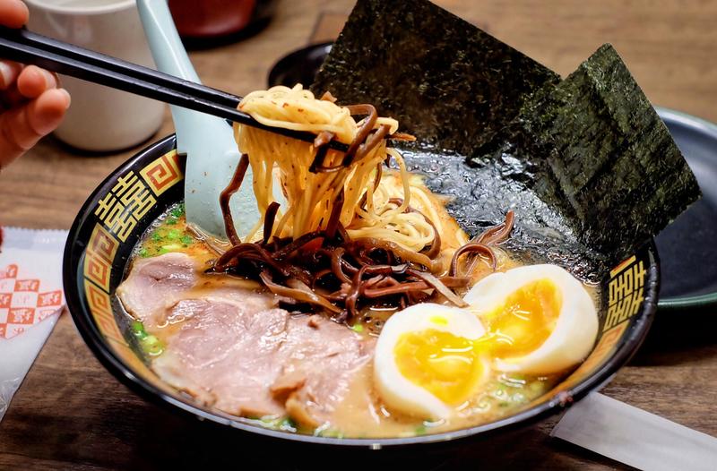 Ramen, noodle in Japanese style