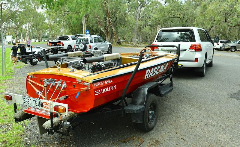 Berri Ski Club Power boats display