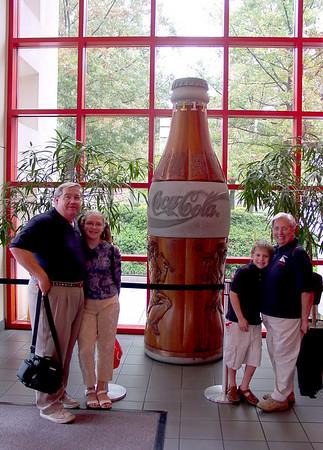 2003 9.21 Tour of Atlanta - World of Coke, MLK site, Cyclorama