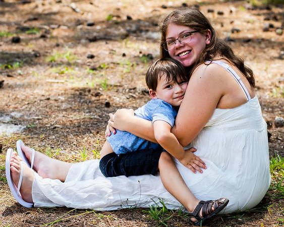 Chelsey Family Maternity Shoot